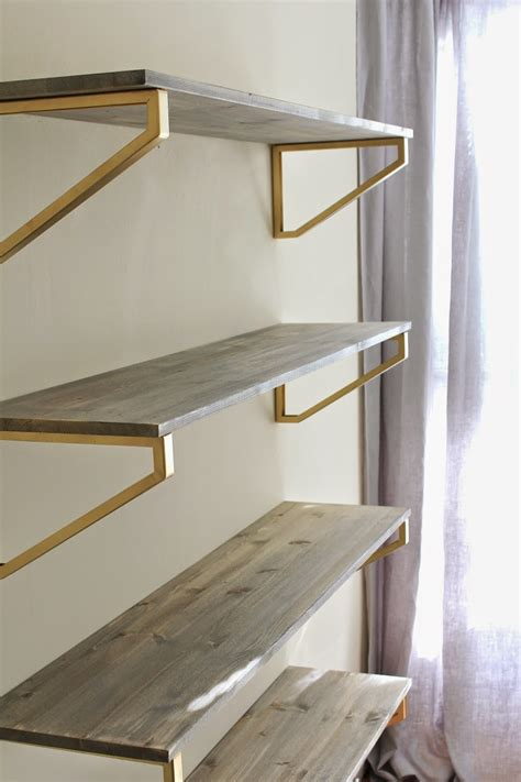 Wood Wall Shelves by Cup Half Rustic Wood Shelf Diy