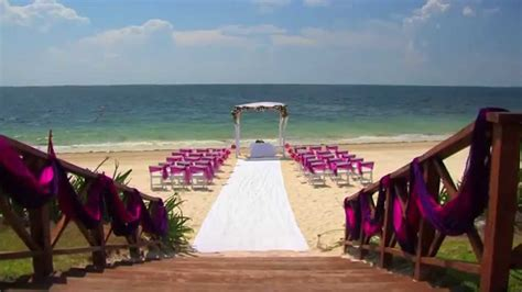 destination weddings   sapphire riviera cancun youtube