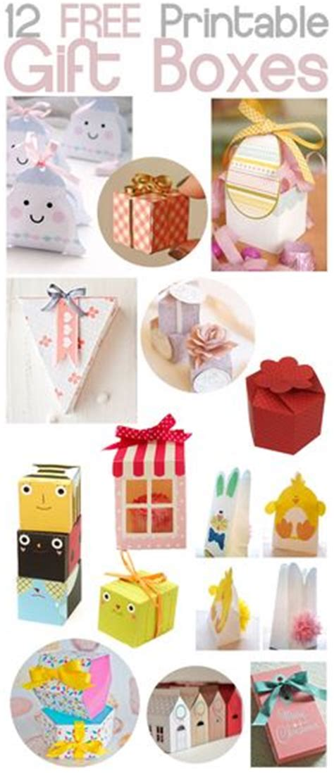 1000+ Images About Printable (free) Boxes On Pinterest  Printable Box, Favor Boxes And Gift Boxes