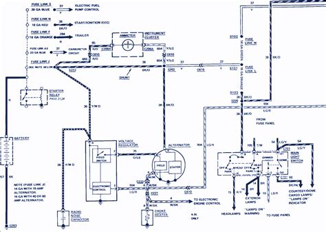 Electrical Wiring Diagram Ford F 250 by 1985 Ford F 250 Wiring Diagram Auto Wiring Diagrams