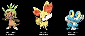 Chespin, Fennekin, and Froakie Revealed to be Pure-type ...