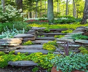 Gartengestaltung Hang Modern : gartengestaltung hanglage mit steinen new garten ideen ~ Lizthompson.info Haus und Dekorationen