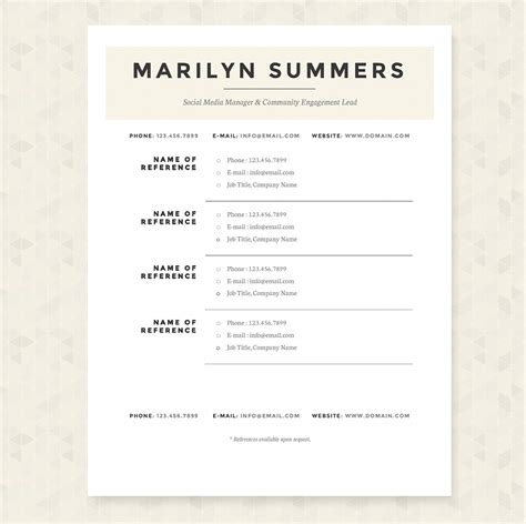 Creative Resume Packages by Classic Resume Template Package Resume Templates On