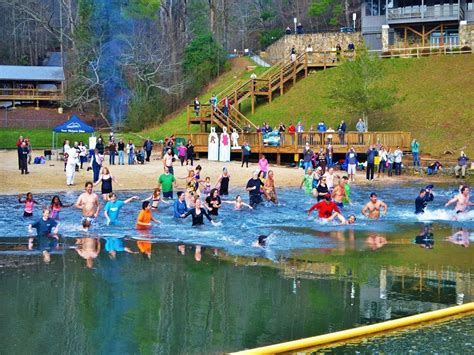 More Than 50 Take The Plunge At Unicoi State Park