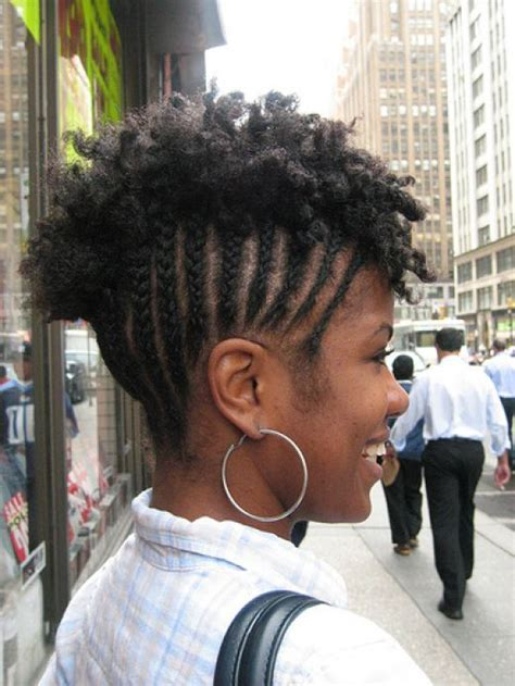 short cornrows hairstyle  natural hair styles weekly