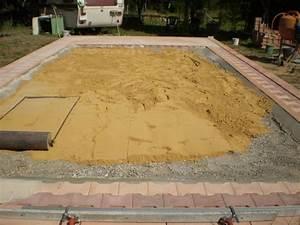 Terrasse Sur Sable : piscine autoport e sur terrasse bois ~ Melissatoandfro.com Idées de Décoration