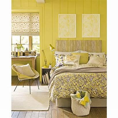 Yellow Primrose Colour Bedroom Decorate Walls Colours