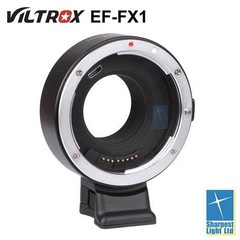 viltrox ef fx1 electronic adapter for canon lens to fuji x