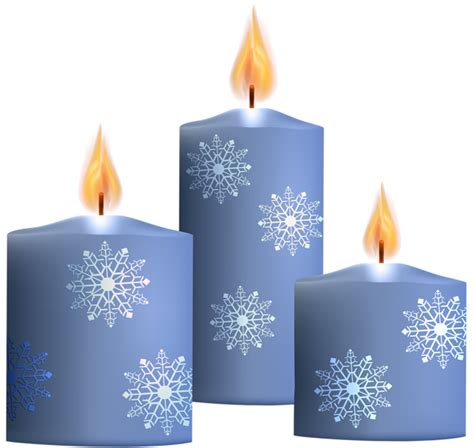 winter candles transparent png clip art gallery