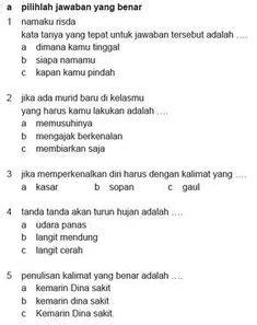 Buku sekolah elektronik (bse) ini adalah buku bahasa indonesia kelas 12 kurikulum 2013 untuk ma/sma/smk, merupakan aplikasi buku elektronik/ebook yang sangat dibutuhkan bagi kamu pelajar di indonesia. Download Soal Tematik Kelas 5 Semester 2 Tema 8 Subtema 1 ...