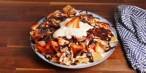 cheesecake nachos recipe    cheesecake nachos