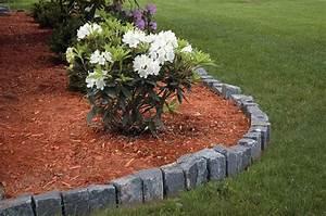 lawn edging ideas mulch - Inexpensive Landscape Edging