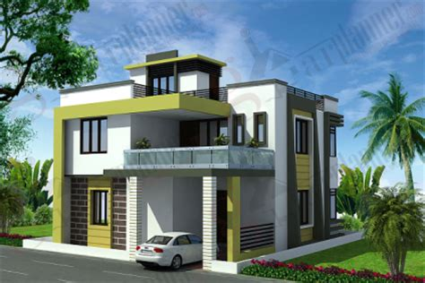 chitra  bhk house design plan