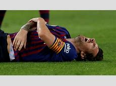 Lionel Messi out for 3 weeks with fractured forearm, will