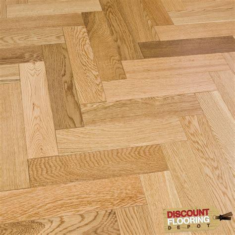 cheap wood flooring home depot engineered herringbone parquet flooring oak 18 5 x 80mm lacquered 1 68m2 from discount