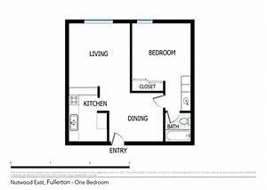 Floor, Plans, Of, Nutwood, East, Apartments, In, Fullerton, Ca