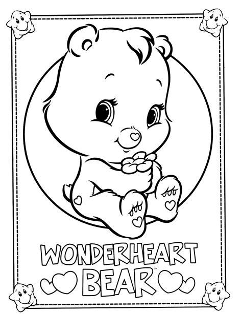 disegni da colorare di siamo orsi care bears coloring page care bears cousins