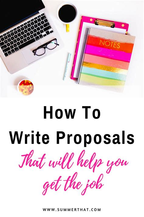 proposal writing ideas  pinterest writing