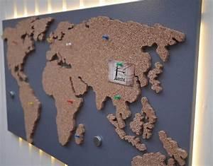 Weltkarte Auf Pinnwand : die 25 besten pinnwand kork ideen auf pinterest korkplatten ikea diy und pinwand kork ~ Markanthonyermac.com Haus und Dekorationen