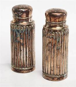 Silver, Salt, And, Pepper, Shakers, Eight, Pairs