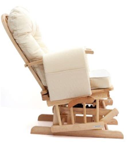 sereno nursing glider maternity rocking chair with footstool srp 163 299 ebay
