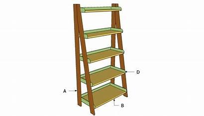 Shelves Ladder Plans Building Build Diy Step