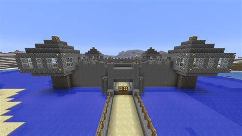 minecraft building ideas  stone castle youtube