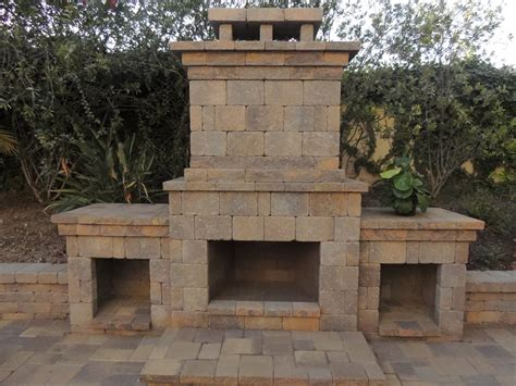 Ideas For New Kitchens - outdoor fireplace san diego backyard gas fireplaces san diego pavers san diego