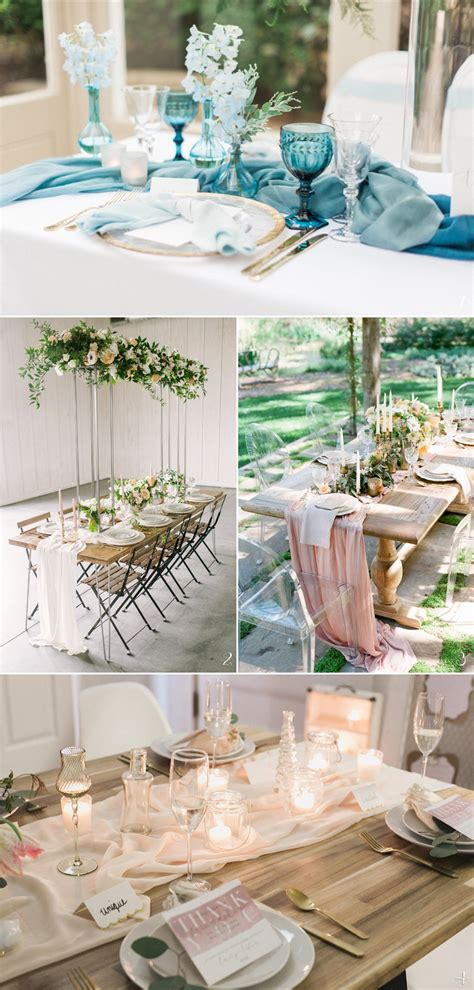 22 Chic Wedding Reception Tabletop Decorations For DIY