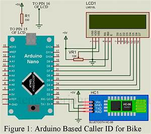 Arduino Based Caller Id For Bike