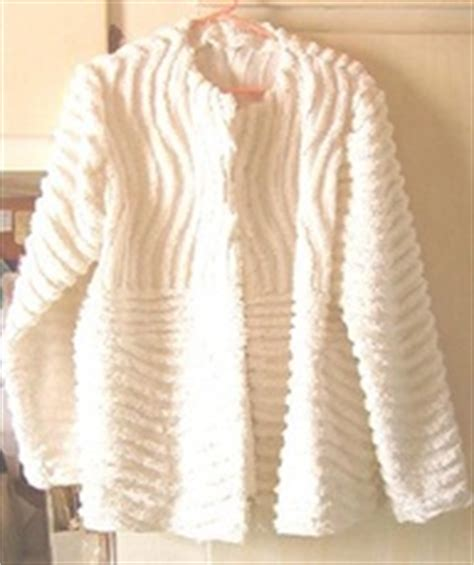 chenille bed jacket designs for daley living chenille loving with g