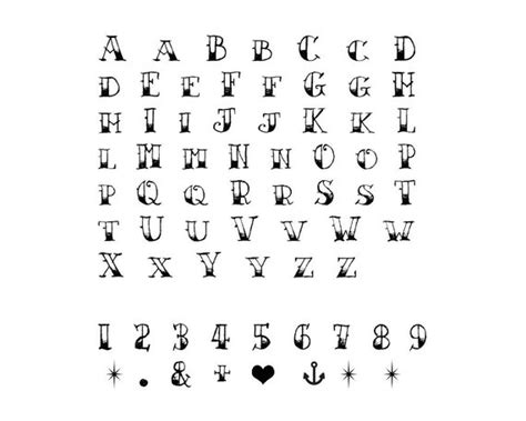 number of letters in alphabet sailor jerry temporary alphabet set of 2 vintage 50175