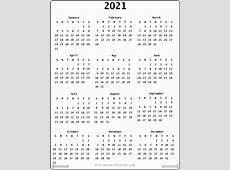Calendar 2021 month printable calendar