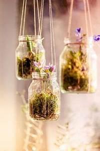 Blumenzwiebeln Im Glas : ber ideen zu h ngende blumen auf pinterest hochzeiten blumen kronleuchter und ~ Markanthonyermac.com Haus und Dekorationen