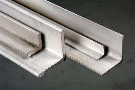 stainless steel angle cut  size metals esmw