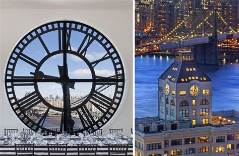 magnificent penthouse  brooklyns iconic clock tower
