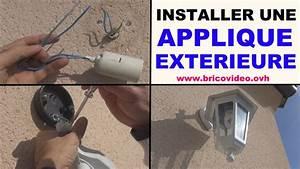 installer applique mur exterieure youtube With comment installer un projecteur exterieur