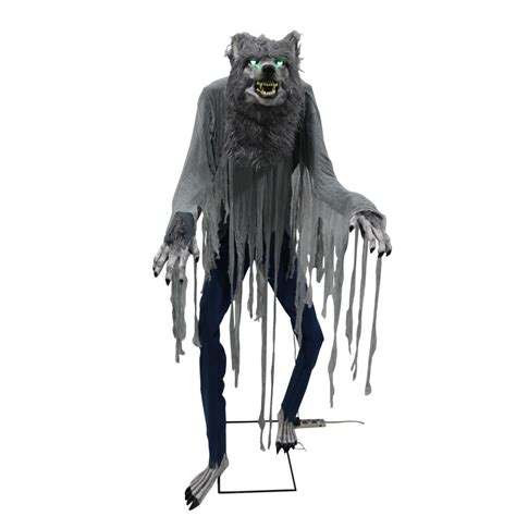 scary ideas for decorations outside home accents 7 ft towering 5124439 the