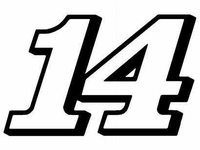 Number Racing Stewart Tony Decal Sticker Decals