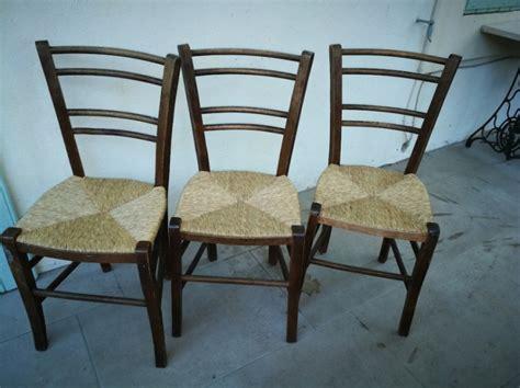 chaises paillées chaises paillées vintage les vieilles choses