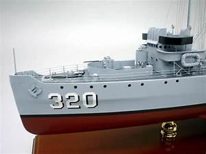 Mine Sweeper Ship Model