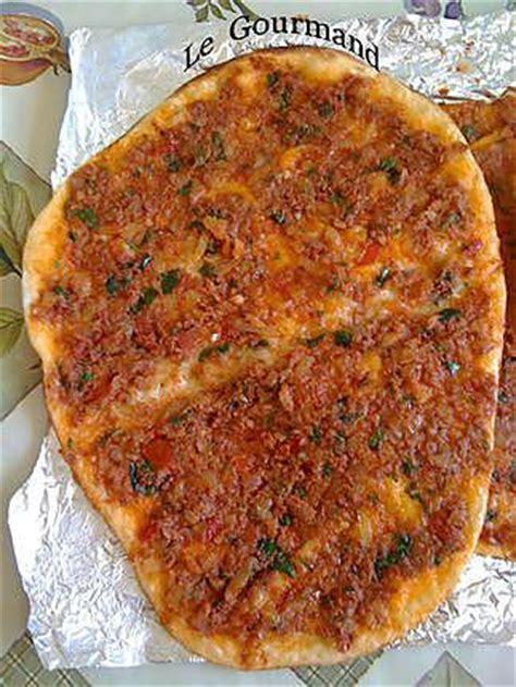 recette de cuisine turque recette de lahmacun pizza turque par legourmand25