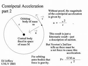 Calculate Centripetal Acceleration Of An Orbiting Object