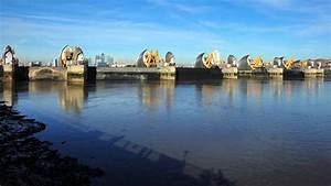 The Closure Of The Thames Barrier