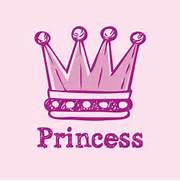 Pink Princess Crown Pi...Pink Princess Crowns Logo