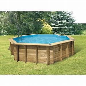 Piscine Bois Ubbink : ubbink piscine bois ocea bleue 580 h130cm achat ~ Mglfilm.com Idées de Décoration