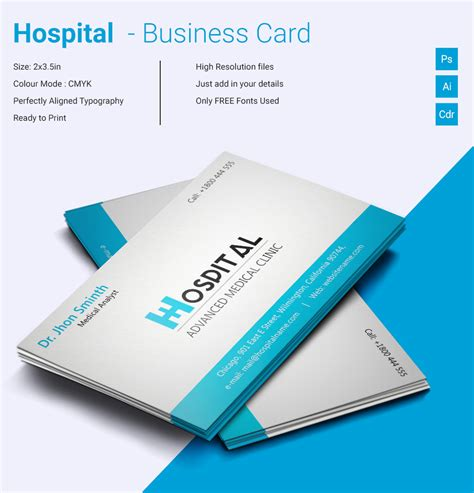 cool business cards  psd eps illustrator