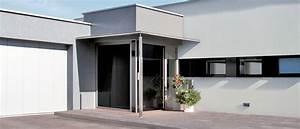 menuiserie btg realise votre porte de garage en aluminium With porte entre garage et maison