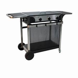 Barbecue A Gaz Castorama : plancha gaz blooma yamaska chariot castorama ~ Melissatoandfro.com Idées de Décoration