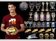 Cristiano Ronaldo's trophy cabinet FCNaija